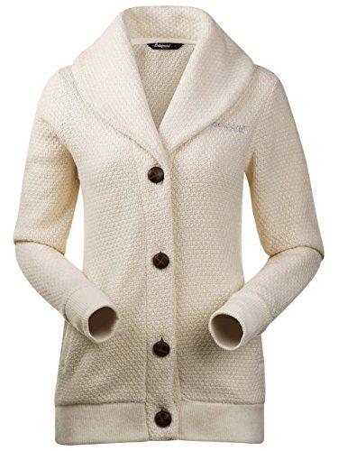 Damen Jacke Bergans Tepperot Jacket Cream