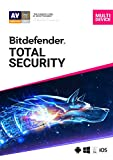 Bitdefender Total Security - 5 Devices    1 Year Subscription   PC/Mac   Activation Code by email