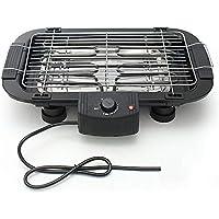 ZCF Eléctrica Sin Humo Antiadherente BBQ Grill Teppanyaki Parrilla Parrilla Altura Ajustable Barbacoa Utensilio de Cocina