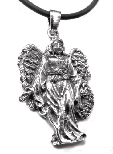 Anhänger Engel Angelic Virgin 925er Sterling Silber Schmuck