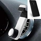 K-S-Trade pour UMIDIGI C2 Smartphone Holder Support Téléphone Grille De Ventilation Montage Titulaire Compact Voiture Air Vent Véhicule Blanc 1x