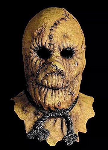 JJH-ENTER Maske Terror Kammer des Schreckens Spukhaus Dämon Geist Maske Kopfbedeckung Umweltschutz Emulsion Mörder Vogelscheuche (Kostüme Baby Vogelscheuche)