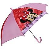 Disney Topolino Minnie Mouse - Ombrello per Bambini - di Colore RosaombrelloRiferimento di colore: rosa / rossoMateriale: 100% NylonLunghezza: 55 cmDiametro: 70 cm caAttenzione del produttore:Articolo c'è giocattolo!Non adatto a bambini sotto...