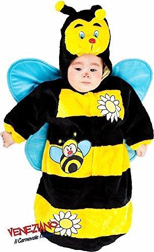 Hergestellt In Italien Plüsch Baby Jungen Mädchen Bumble Bee Schlafsack Sack Kinderzimmer Betten Fancy Kleid Kostüm Outfit 0–3Monate