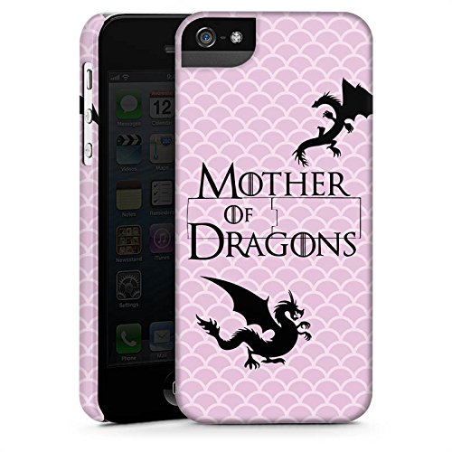 Apple iPhone 7 Hülle Case Handyhülle Drachen Game of Thrones GOT Premium Case StandUp