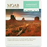 Moab papel Somerset Enhanced Velvet de 8, 5x11