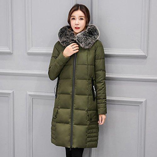 ragen Down Jacket Women Slim Winter Warme Jacke, S, Militär Grün Midties ()