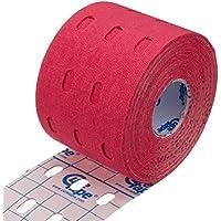 Cure Punch Original Kinesiology Tape, 5 cm x 5 m, red (1 x 1 Stück) preisvergleich bei billige-tabletten.eu