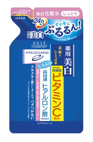KOSE COSMEPORT Hiaro Charge White Lotion - M 180ml - Moist - Refill