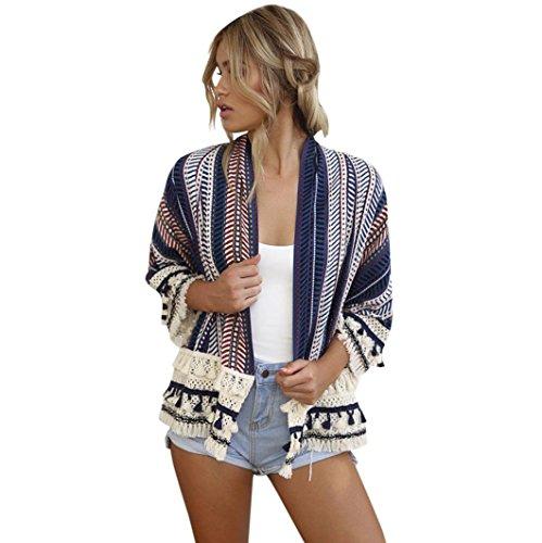 80035c2ca DEELIN CáRdigan Flojo del Kimono del Chal Flojo De Las Mujeres Camisa De La  Camisa De