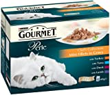 Purina Gourmet Perle Wet Cat Food Mini Fillets in Gravy, 48 x 85 g - Chef's Collection