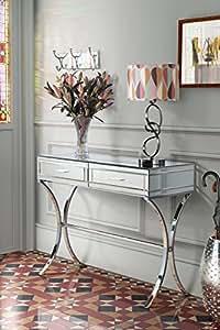my furniture aurelia verchromte und verspiegelte konsole. Black Bedroom Furniture Sets. Home Design Ideas