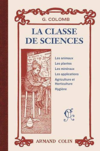 La classe de sciences