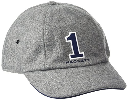 hackett-clothing-number-gorra-de-beisbol-hombre-gris-grey-one-sizeuk