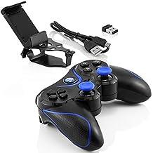 Inalámbrica Bluetooth Controlador de juegos para dispositivos Apple IOS / Android / Sony PlayStation 3 / PC con Windows
