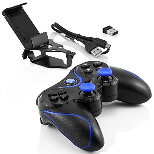 Preisvergleich Produktbild Bluetooth Wireless Game-Controller für Apple IOS / Android / Sony PlayStation 3 / Windows PC