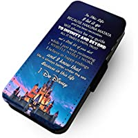 WTF In This Life, I Do Disney | Faux Leather Flip Phone Case | (Samsung Galaxy S9 Plus +)