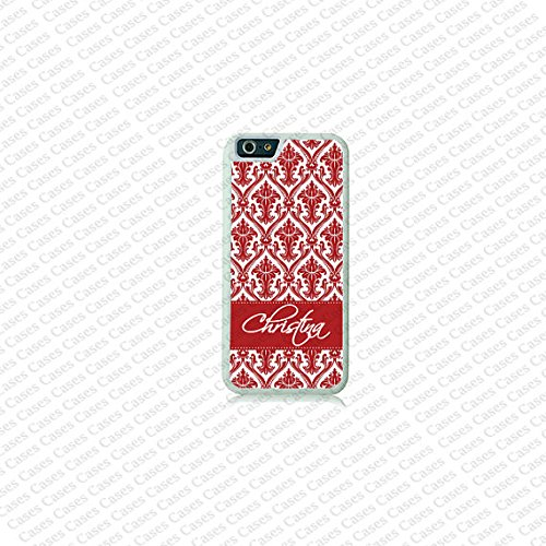 Krezy Case Damask Monogram iPhone 6 Case, Heavy Duty iPhone 6 Case, Custom iPhone 6 Cases, Cute monogram iPhone 6 Case