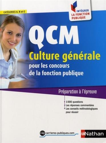 QCM Culture gnrale