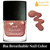 #10: Iba Halal Care Breathable Nail Color, B24 Rose Gold, 9ml