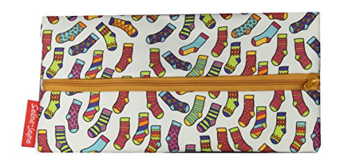 Selina-Jayne Socken Limitierte Auflage Designer Federmäppchen (Flach Knie Socken Socke)