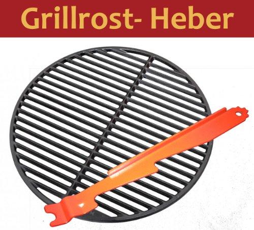 3in1 Grillheber Grillreiniger Stütze Grillrostheber GRILL Heber Grillrost Heber