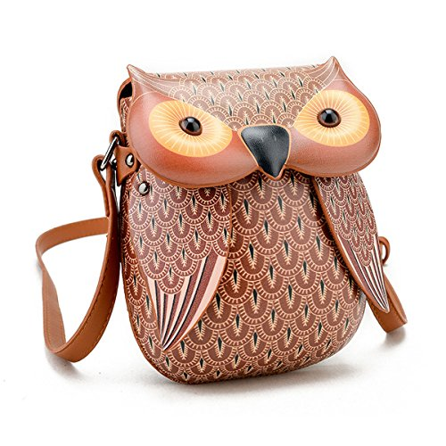 SICHYUAN, Borsa a zainetto donna, Nero Brown