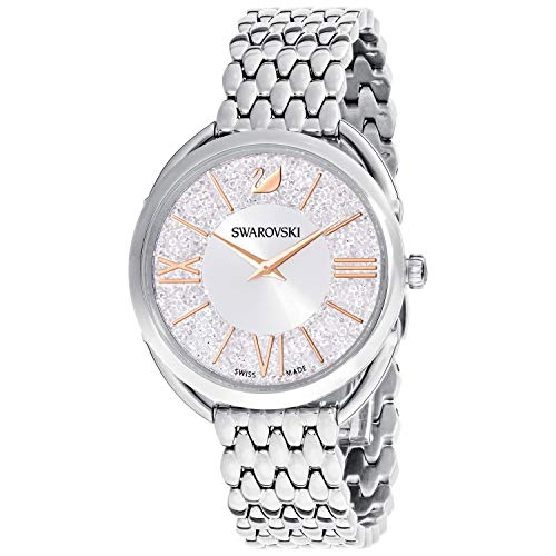 Crystalline Glam Swarovski ladies watch silver tone 5455108