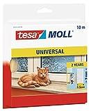 tesa Moll UNIVERSAL Schaumstoff-Dichtung, weiß, 9 mm x 10 m