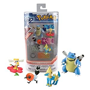Pokemon X And Y Blastoise/ Flabebe/ Fletchling/ Manectric 4-Figure Gift Pack