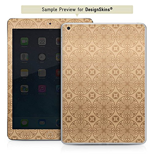 Manor-konsole (Apple iPad mini 4 Case Skin Sticker aus Vinyl-Folie Aufkleber Blume Flower Muster)