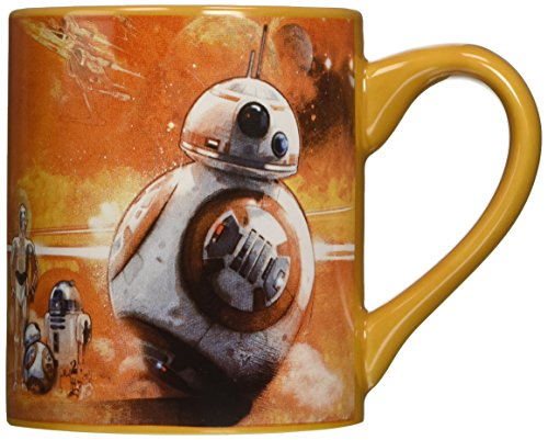 Star Wars Ep VII: The Force Awakens BB-8 Droids 14 oz Taza...