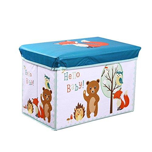 Aufbewahrungsbox Multifunktions Wasserdicht Faltbar Tragbarer Stuhl Dresser Schublade Schrank Organizer Container Mit staubdichten Deckel fuchs (Ersatz-stuhl-teile)