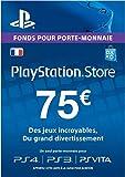 Carte Playstation Network 75 EUR   Code Jeu PSN - Compte français