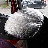 Copertura di protezione solare, volante Volante in alluminio argentato Visiera parasole rotonda Parasole for auto raffreddato adatto for la maggior parte delle auto (Color : Silver)