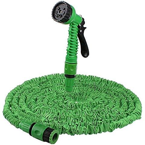 1524 cm tubo da giardino espandibile acqua pistola a spruzzo (verde, Non piega)