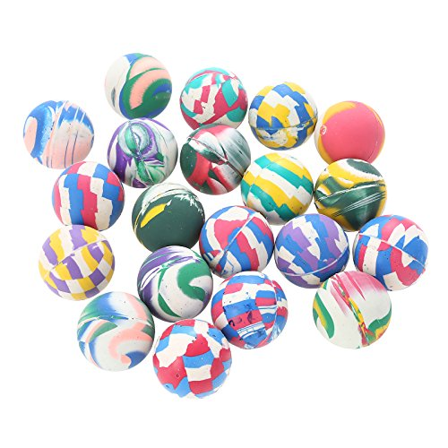 STAR-LINE 50 Große Flummis Set 42 mm Springball Hüpf Ball Flummi Ball Bunte GUMMIBÄLLE Mitgebsel Kindergeburtstag-Party Spielzeug