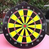 #1: 1 Set Safe Magnetic Dart Board with 1 Magnetic Darts Indoor Target Random Gift for Children Kids