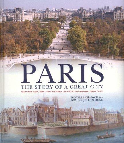 L'histoire de Paris (en anglais)