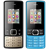 I KALL 1.8 Inch (4.57 Cm) Dual Sim Feature Phone Combo - K20 (Black) And K25 (Black)