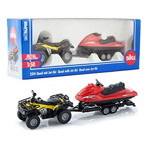 Zantec Simulieren Legierung Fahrzeugmodell Anhänger Plattform LKW Traktor Kinder Spielzeug Geschenk Sammlung 2314 mit boat