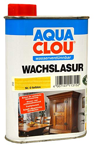 Clou Wachslasur W11 farblos 0,250 L