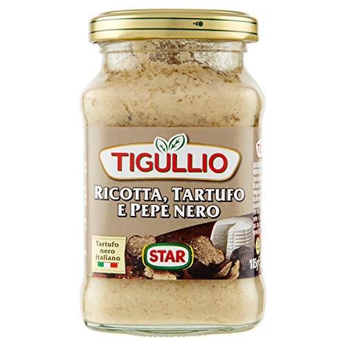 6x Star Tigullio GranPesto Ricotta, Trüffel und schwarzer Pfeffer 190g Sauce Soße