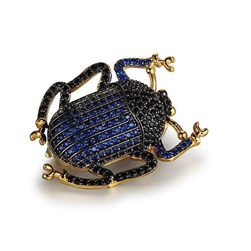(Käfer Tier Insekt Brosche Shirt Kleidung PIN Für Mädchen Lady Frauen Schmuck-Accessoires Halskette Dual Verwenden Weihnachtsgeschenk)