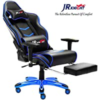 JR Knight Gaming Chair Pro, ergonómico Silla de Escritorio de electrodoméstico Racing de Luxe con