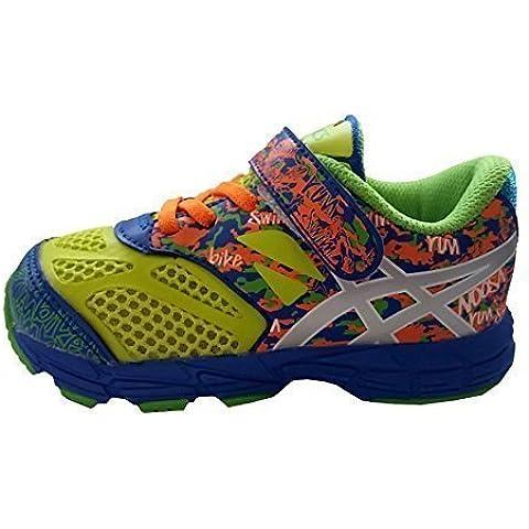 Asics - Zapatillas de Material Sintético para niño Multicolor multicolor