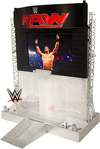 WWE Electronic Ultimate Entrance Stage Playset by Mattel (Mattel Wwe Entrances Superstar)
