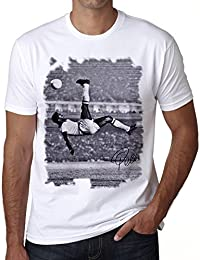Pele T-shirt,cadeau,Homme,Blanc,t shirt homme