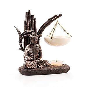pajoma Duftlampe Buddha, aus Kunstharz, Höhe 13 cm