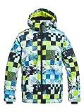 Quiksilver EQBTJ03079 Veste Garçon Lime Green_Money Time FR : XL (Taille Fabricant :...